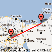 Al Arish (Al Arish International Airport, AAC) - Cairo (Cairo International, CAI)