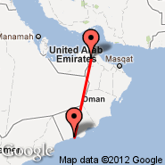 Al Ain (Al Ain International Airport, AAN) - Salalah (Salalah International Airport, SLL)