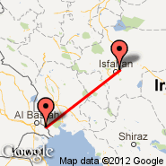 Abadan (ABD) - Isfahan (Isfahan International, IFN)