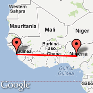 Abuja (Nnamdi Azikiwe International Airport, ABV) - Conakry (CKY)