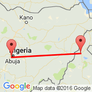 Abuja (Nnamdi Azikiwe International Airport, ABV) - Garoua (GOU)