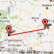 Abuja (Nnamdi Azikiwe International Airport, ABV) - Ilorin (ILR)