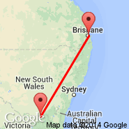 Albury (ABX) - Brisbane (Brisbane International, BNE)