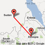 Addis Abeba (Bole International, ADD) - Khartoum (Civil, KRT)