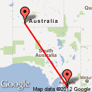 Adelaide (Adelaide International Airport, ADL) - Ayers Rock (Connellan, AYQ)