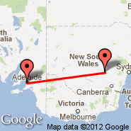 Adelaide (Adelaide International Airport, ADL) - Condobolin (CBX)