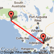 Adelaide (Adelaide International Airport, ADL) - Ceduna (CED)
