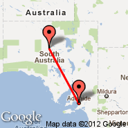 Adelaide (Adelaide International Airport, ADL) - Coober Pedy (CPD)