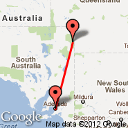 Adelaide (Adelaide International Airport, ADL) - Innamincka (INM)