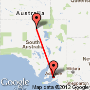 Adelaide (Adelaide International Airport, ADL) - Oodnadatta (ODD)