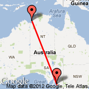 Adelaide (Adelaide International Airport, ADL) - Port Keats (PKT)