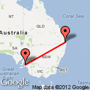 Adelaide (Adelaide International Airport, ADL) - Surfers Paradise (SFP)