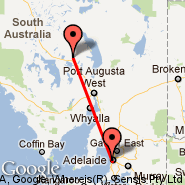 Adelaide (Adelaide International Airport, ADL) - Woomera (UMR)
