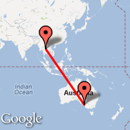 Adelaide (Adelaide International Airport, ADL) - Uttaradit (UTR)