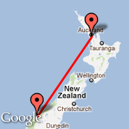 Auckland (Auckland International, AKL) - Milford Sound (MFN)