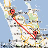 Auckland (Auckland International, AKL) - Matamata (MTA)