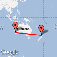 Auckland (Auckland International, AKL) - Perth (Perth International, PER)