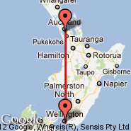 Auckland (Auckland International, AKL) - Wellington (Wellington International, WLG)