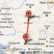 Ahmedabad (Sardar Vallabhbhai Patel International Airport, AMD) - Jodhpur (JDH)