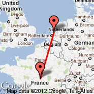 Amsterdam (Amsterdam-Schiphol, AMS) - Bourges (BOU)