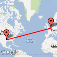 Amsterdam (Amsterdam-Schiphol, AMS) - Dallas (Dallas/Fort Worth International, DFW)