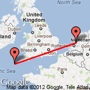 Amsterdam (Amsterdam-Schiphol, AMS) - Isles of Scilly (St Marys, ISC)