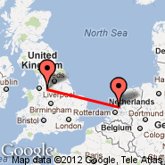 Amsterdam (Amsterdam-Schiphol, AMS) - Manchester (Ringway International Airport, MAN)