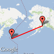 Anchorage (Ted Stevens Anchorage International Airport, ANC) - Attu Island (Casco Cove, ATU)