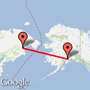 Anchorage (Ted Stevens Anchorage International Airport, ANC) - Anadyr (Ugolny, DYR)