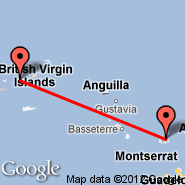 Antigua (V. C. Bird Intl, ANU) - Saint Thomas (Cyril E King Airport, STT)