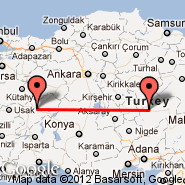 Kayseri (Erkilet International Airport, ASR) - Afyon (AFY)