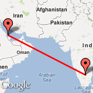 Bahrain (Bahrain International, BAH) - Bangalore (Bangalore International Airport, BLR)
