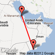Bahrain (Bahrain International, BAH) - Salalah (Salalah International Airport, SLL)