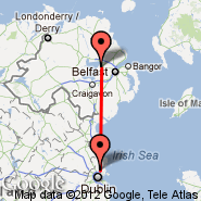 Belfast (Aldergrove International Airport, BFS) - Dublin (Dublin International Airport, DUB)
