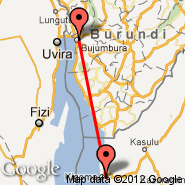 Bujumbura (International, BJM) - Kigoma (TKQ)