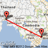 Bangkok (Suvarnabhumi International, BKK) - Ho Chi Minh City (Tan Son Nhat International, SGN)