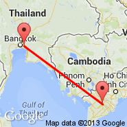 Bangkok (Suvarnabhumi International, BKK) - Can Tho (International (Tr, VCA)