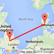 Billund (BLL) - East Midlands (East Midlands Airport (Castle Donnington), EMA)