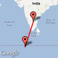 Bangalore (Bangalore International Airport, BLR) - Gan Island (Gan Airport, GAN)