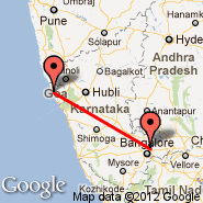Bangalore (Bangalore International Airport, BLR) - Goa/Dabolim (Dabolim, GOI)