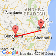 Bangalore (Bangalore International Airport, BLR) - Tirupati (TIR)