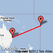 Brisbane (Brisbane International, BNE) - Apia (Faleolo, APW)