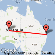 Brisbane (Brisbane International, BNE) - Ayers Rock (Connellan, AYQ)
