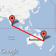 Brisbane (Brisbane International, BNE) - Colombo (Bandaranayake, CMB)