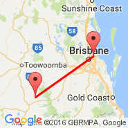 Brisbane (Brisbane International, BNE) - Cherribah (CRH)