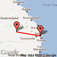 Brisbane (Brisbane International, BNE) - Charleville (CTL)