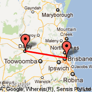 Brisbane (Brisbane International, BNE) - Dalby (DBY)