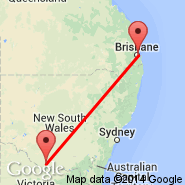Brisbane (Brisbane International, BNE) - Deniliquin (DNQ)