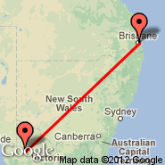 Brisbane (Brisbane International, BNE) - Horsham (HSM)