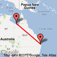 Brisbane (Brisbane International, BNE) - Mornington Island (Mornington, ONG)